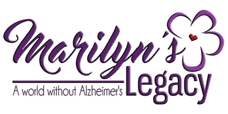 Marilyn's Legacy: A World Without Alzheimer's Logo